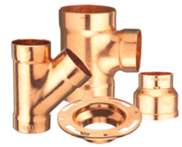 Copper Solder Joint Fittings & Flanges - Increase announced