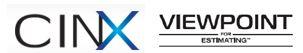 Viewpoint MEP Estimation  / CINX Update Intsructions